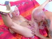 Blonde Charly Sparks Taking Bigcock In Her Ass Hardcore