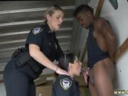Black suspect taken on a raunchy ride