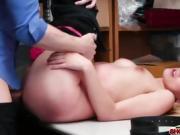 Hot fucking action with shoplifter Alexa Raye