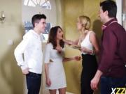 Amber Jayne And Jimena Lago Over Boyfriend Dick