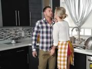 Evelin and Blake get pounded by lucky BF on thanksgiving