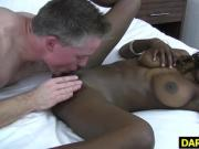 Dark Teen Unique Starr Likes White Dicks