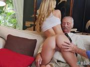 College Babe Molly Mae Spreads Shaved Twat For Pensioners