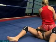Lesbian Babes Get Into A Fight