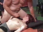 Amazing mature women getting a very kinky treat in group fuck