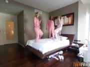 Emma Shyla and Liza in Slumber Party