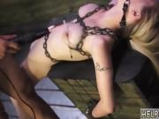Extreme gagging face fuck hd Helpless Lily Dixon is