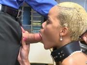 Woof! mother fucker woof Arie Faye sucking cock