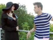Angel Taught By Ariella To Get Banged in Bedroom