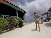 Gopro HD underwater sex on public beach teenlivecamsex