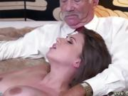 Old first fucking Ivy impresses with her huge breasts and ass