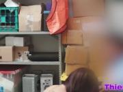 Shoplyfter Naiomi Mae gives pussy as a punishment
