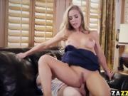Nicole Anistons pussy drilled doggystyle by Jessy Jones