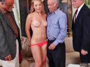 Old guy massage Frankie And The Gang Tag Team A Door To Door