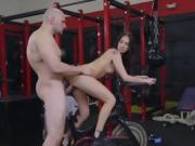 Hottie Aubrey Rose Gets Humped And Facialized