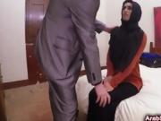 Mega hot Arab fucked hard by the horny dude