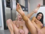 Hot Dykes Pleasure Each Other With Dildo