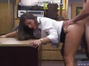 Ebony cuckold white and public PawnShop Confession!