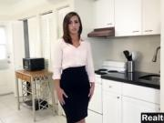 A very hot realtor fucked by her boss