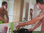 Stepdaddy slams his horny little stepdaughter Blair Williams