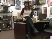 Hot Felicity Feline gets pussy fucked hard by a hunk dude