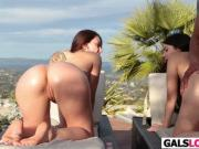 Mandy Muse And Valentina Nappi Sharing A BBC