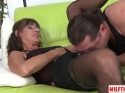 Hot milf sex with cumshot 4