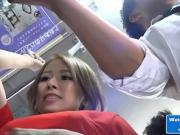 Beautiful Asian MILF On The Public Bus
