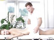 Beauty gets sexy cock riding with missionary style pounding