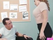 Hot MILF Natasha tries hardcore anal sex