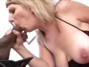 Blonde Cougar Try BBC