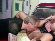GERMAN MOM JENNY FUCK WITH TWO STRANGER IN SWINGER CLUB