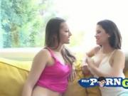 two teen stepsisters become lesbians and making love