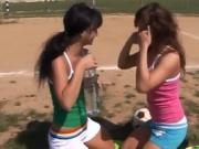 Black lesbians licking pussy threesome Sporty teens gobbling