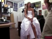 A pretty fabulous blonde babe fucked hard on the desk