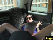 sexy ho fucks in car
