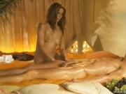 Man Gets A Sexy Massage From Her Woman On Cam