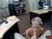 Black guy let his GF fucked by pawn guy for some money