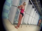 Sexy Showering Milfs Ignorant of Spy Webcam