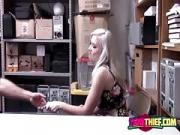 Skinny Pornstar Emily Right Shoplifter