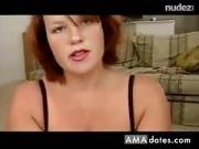 Red-head Prefers Cum First in The Condom Then Mouth