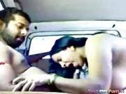 Indian Cab Driver Fucks A Client On The Backseat 4