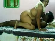 Indian Chubby Milf Mounts on Her Husband Meat
