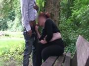 48yo Chick Goes Dogging In The Park And Sucks A Stranger039s Dick