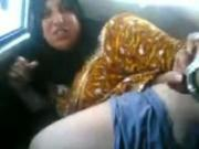 old lady sucking dick Arab Partygirl Sucks Cock And Gets Doggystyle Fucked In A Car