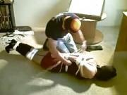 my helpless Hogtied slave Felicia