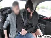 Amateur passenger fucked in the backseat of the taxi
