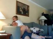 Dirty Angel Likes Fucking on Sofa