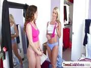 Hot brunette babe Mila Marx fingering Tylo Durans pussy