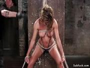 Busty Slave Rough Snatch And Ass Sexed